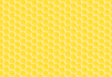 Honey combs pattern Stock Image