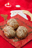 Honey Cookies with Walnuts Royalty Free Stock Image