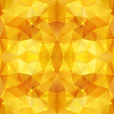 Honey crystal vector abstract pattern Royalty Free Stock Images