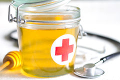 Honey is a cure abstract health lifestyle concept Royalty Free Stock Photography