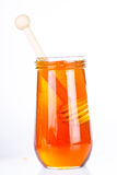 Honey diping and dipper  Stock Photo