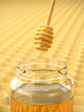 Honey Dipper Stock Image