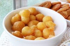 Honey donuts Royalty Free Stock Image