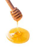 Honey drip Royalty Free Stock Image