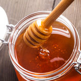 Honey drip Royalty Free Stock Images