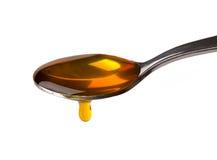 Honey Dripping Royalty Free Stock Photos
