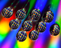 Abstract colorfull drops Royalty Free Stock Images