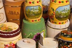 Honey Fair en Uglich, Rusia Fotos de archivo libres de regalías