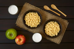 Honey Flavored Breakfast Cereal Stock Photo