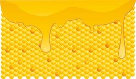 Honey flowing Royalty Free Stock Image