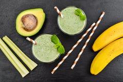 Fresh avocado smoothie Royalty Free Stock Image