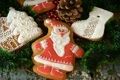 Honey Gingerbread Imagens de Stock Royalty Free