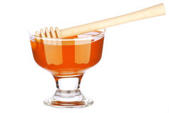 Honey in a glass Stock Photos