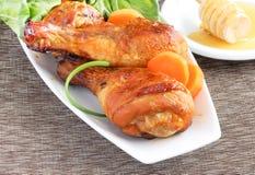 Honey glazed chicken Royalty Free Stock Photography