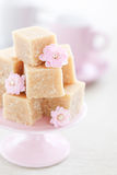 Honey halva. Halva with honey and rose water (Armenian cuisine), selective focus Royalty Free Stock Photos