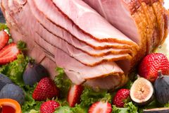 Honey ham Royalty Free Stock Images