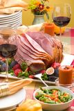 Honey ham Stock Photo