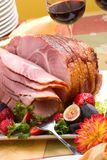 Honey ham Stock Photos