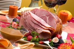 Honey ham Royalty Free Stock Photography