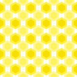 Honey hive pattern seamless Stock Images