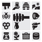 Honey icon Royalty Free Stock Images