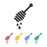 Honey icon. Design style eps 10 stock illustration