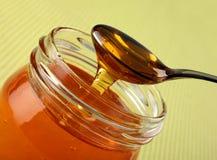 Honey In Glass Stock Image