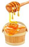 Honey  isolated Stock Photo