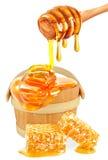 Honey  isolated Royalty Free Stock Photos