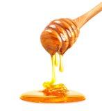 Honey  isolated Stock Photography