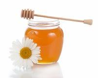 Honey  isolated on white background Stock Photography