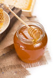 Honey isolated on white background Royalty Free Stock Image