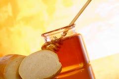 Honey jar Stock Photography