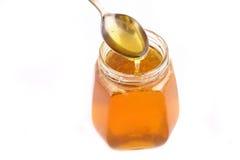 Honey jar Royalty Free Stock Image