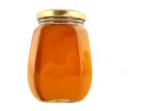 honey jar Royaltyfri Bild