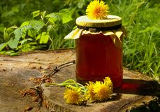 Honey Jar Royalty Free Stock Photos