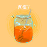 Honey Jar Imagem de Stock