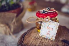 Honey Jar Imagenes de archivo