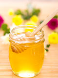 Honey in the jar Royalty Free Stock Image