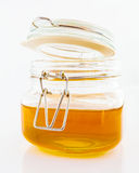 Honey in jar Stock Photos