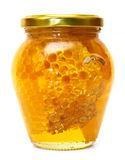 Honey jar isolated Stock Photos