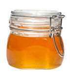 Honey jar, isolated Stock Image