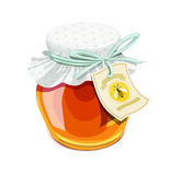 Honey jar. Vintage style Stock Photo