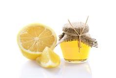Honey jar Stock Images