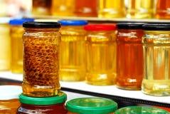 Honey jars Stock Image