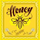 Honey Label Stock Photos