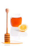 Honey & Lemon Stock Image