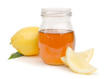 Honey and Lemon Stock Photo
