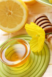 Honey and lemon Stock Photos