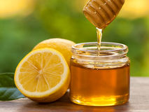 Honey Lemon Stock Afbeeldingen